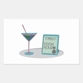 Tonight Cocktail Hour Sticker