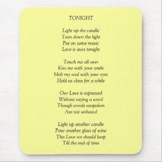 TONIGHT/Love Mouse Pad