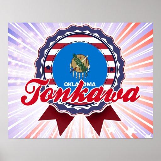 Tonkawa, AUTORIZACIÓN Póster