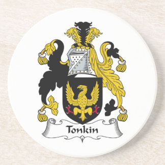 Tonkin Family Crest Drink Coasters