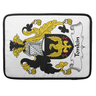 Tonkin Family Crest Sleeves For MacBook Pro