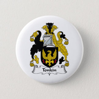 Tonkin Family Crest Pinback Button