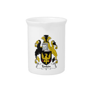 Tonkin Family Crest Pitcher