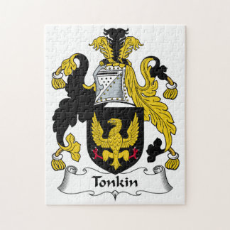 Tonkin Family Crest Jigsaw Puzzles