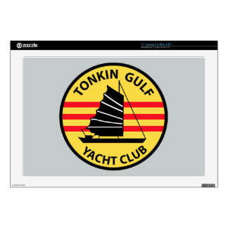 "Tonkin Gulf Yacht Club 17"" Laptop Decal"