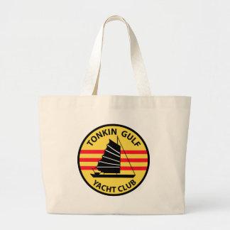 Tonkin Gulf Yacht Club Large Tote Bag