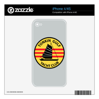 Tonkin Gulf Yacht Club Decals For The iPhone 4S