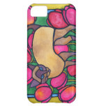 Tonkinese and Tulips iPhone 5C Cases