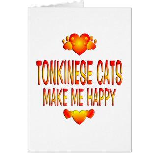 Tonkinese Cat Card