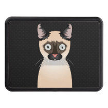 Tonkinese Cat Cartoon Paws Trailer Hitch Cover