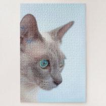 Tonkinese Cat. Jigsaw Puzzle
