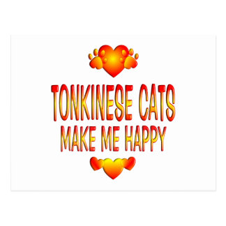 Tonkinese Cat Postcard