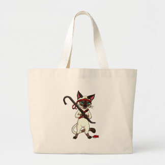 Tonkinese cat Zombie Slayer Tote Bag