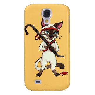 Tonkinese cat Zombie Slayer Samsung S4 Case