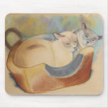 Tonkinese Precious & Romeo Mouse Pad