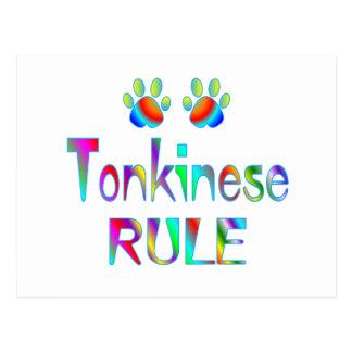 Tonkinese Rule Postcard