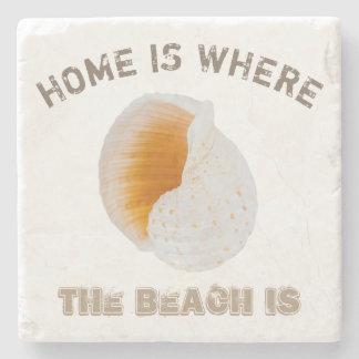 Tonna Galea Shell Stone Coaster