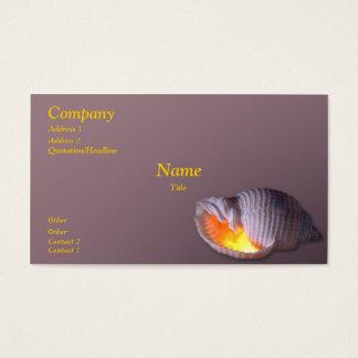 Tonna Tesselata Business Card