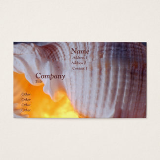 Tonna Tessellata Business Card