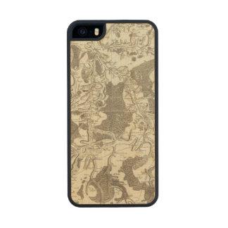 Tonnerre Funda De Arce Carved® Para iPhone 5 Slim
