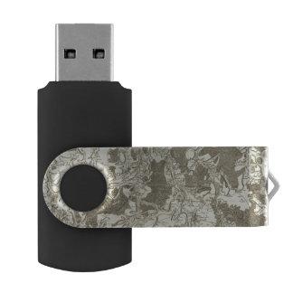 Tonnerre Memoria USB 2.0 Giratoria