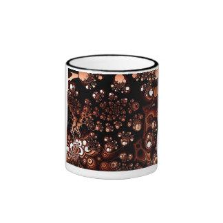Tono de cobre taza a dos colores