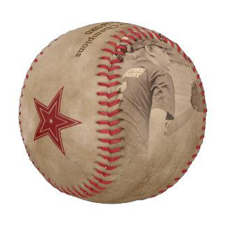 Tono de la sepia del béisbol de la foto - beige