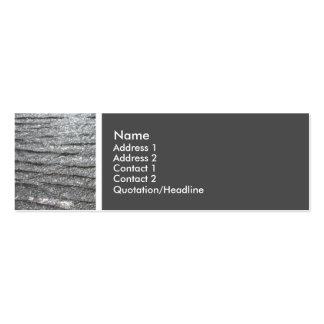 Tono de la textura (mar) tarjetas de visita mini