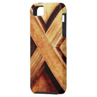 Tono de madera X iPhone 5 Case-Mate Carcasa