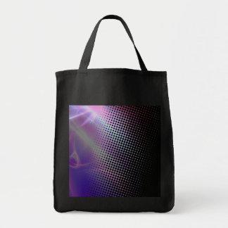 tono medio femenino enrrollado texturizado bolsa tela para la compra