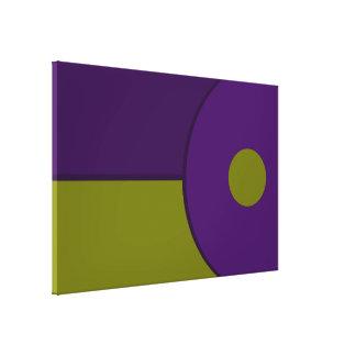 Tono moderno dos lienzo envuelto para galerias