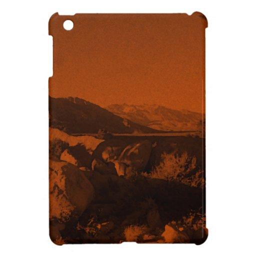 Tono naranja iPad mini protector