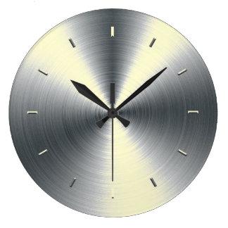 Tono poner crema coloreado relojes de pared