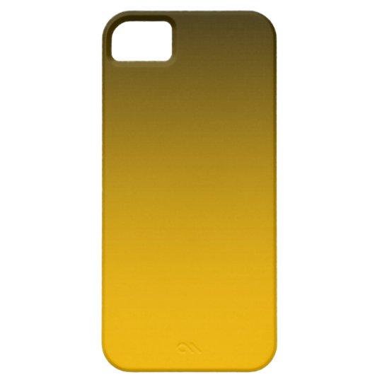 Tono quemado del naranja dos funda para iPhone SE/5/5s