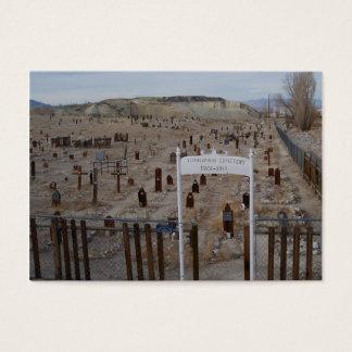 Tonopah Cemetery Business Card