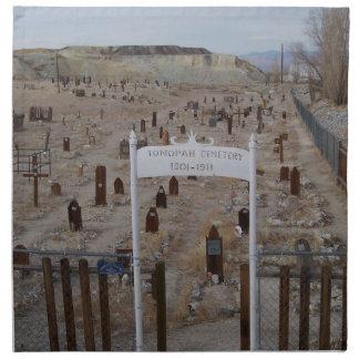 Tonopah Cemetery Cloth Napkin