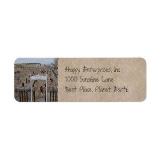 Tonopah Cemetery Label