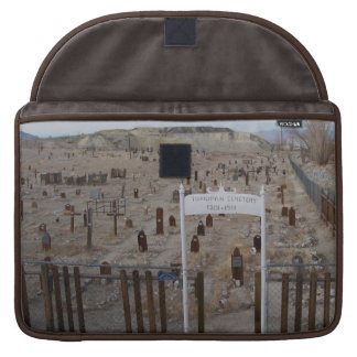 Tonopah Cemetery Sleeve For MacBook Pro