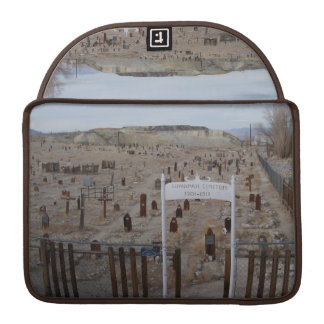 Tonopah Cemetery Sleeves For MacBook Pro