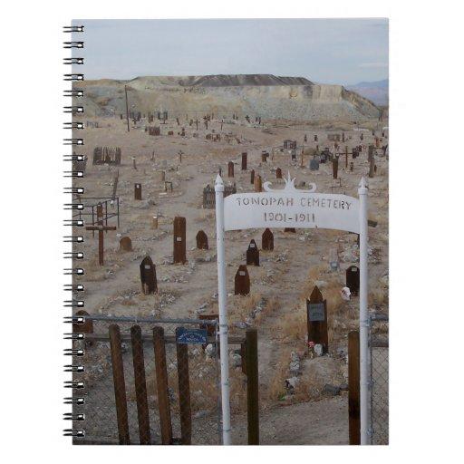Tonopah Cemetery Note Books