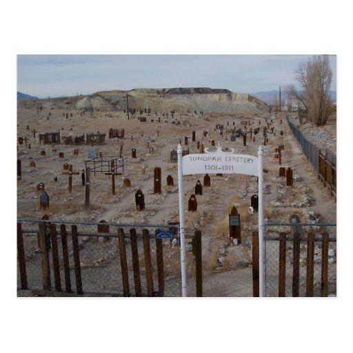 Tonopah Cemetery Postcard