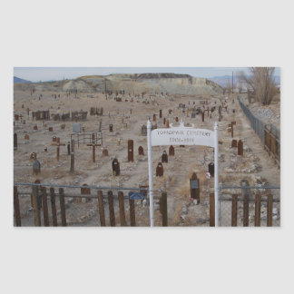 Tonopah Cemetery Rectangular Sticker