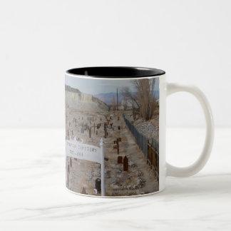 Tonopah Cemetery Two-Tone Coffee Mug
