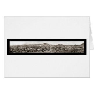 Tonopah NV Panoramic Photo 1907 Card