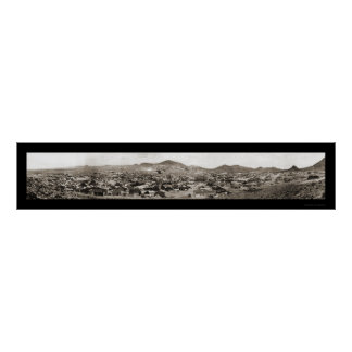 Tonopah NV Panoramic Photo 1907 Poster