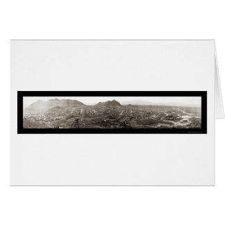 Tonopah NV Panoramic Photo 1909 Card