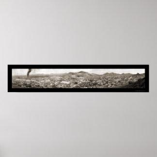 Tonopah NV Panoramic Photo 1913 Poster