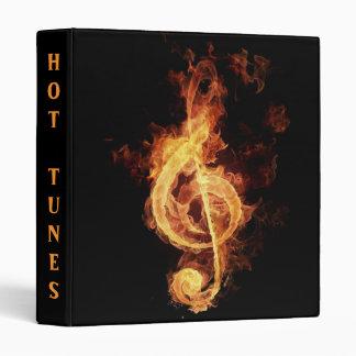 Tonos calientes - carpeta del CD del diseñador