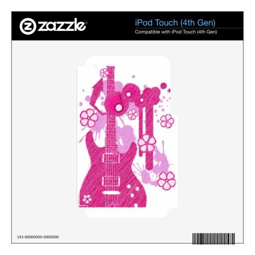 TONOS DE GUITAR-POP CALCOMANÍA PARA iPod TOUCH 4G