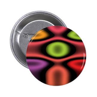 Tonos geométricos de la joya pin redondo 5 cm